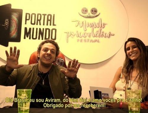 Vini Vici entrevista Mundo Psicodélico Festival