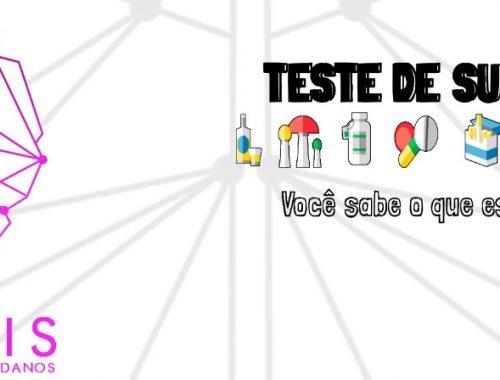 Teste de substâncias