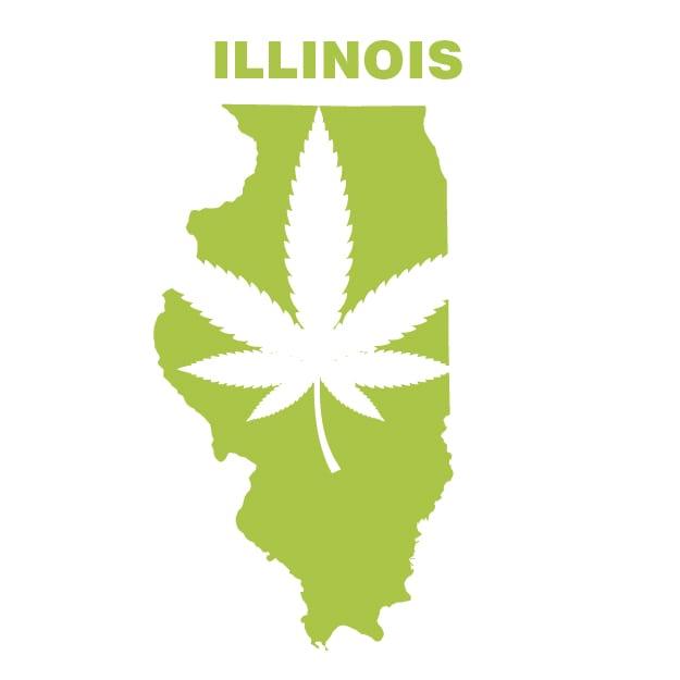 legalização da maconha em Illinois