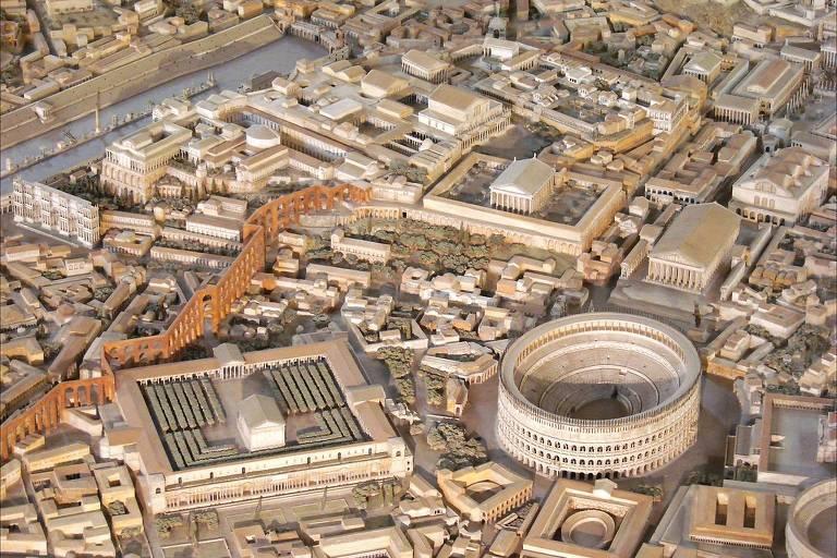 Maquete da Roma Antiga
