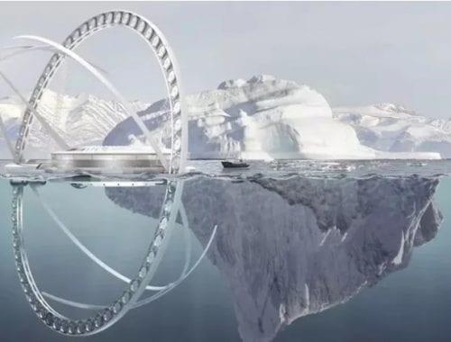 Máquina de reverter o aquecimento global