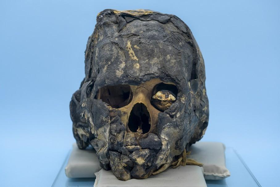 recria rosto de múmia