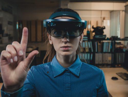 Óculos e fones de ouvido da Apple de realidade virtual