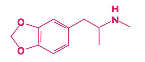 fórmula molecular mdma ecstasy