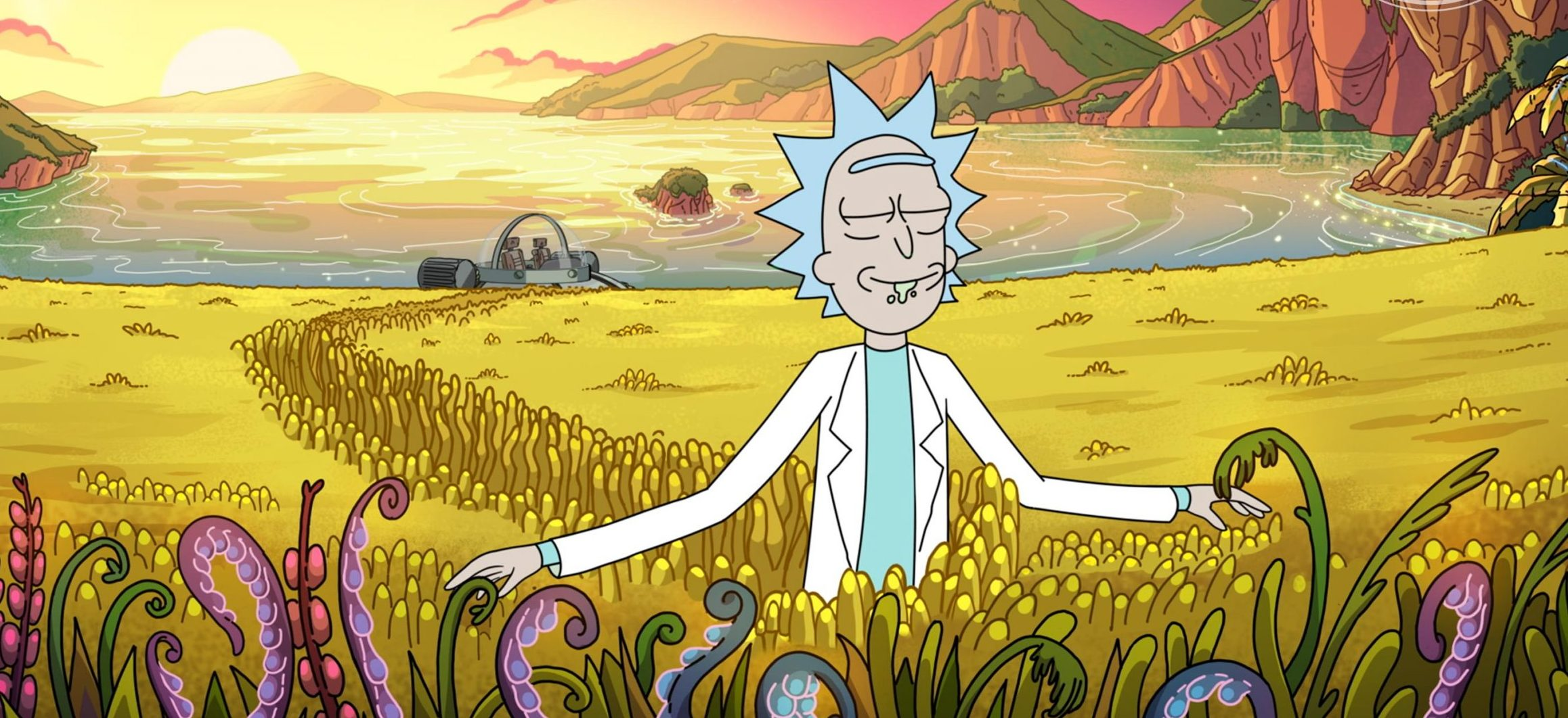 rick and morty: 4ª temporada na netflix