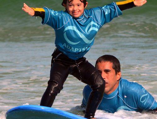 surfe para pessoas com deficiência