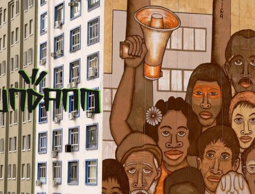 mundano pinta mural em homenagem às vítimas de Brumadinho