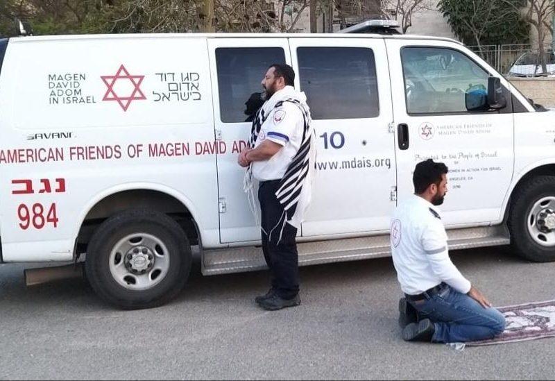 palestinos e israelenses