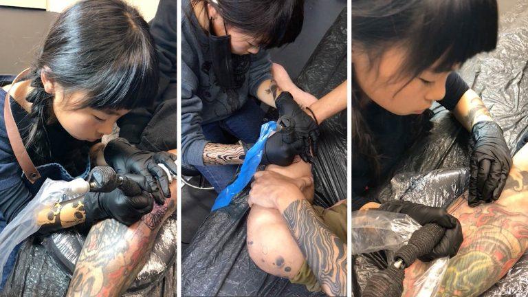 tatuadora japonesa de 10 anos